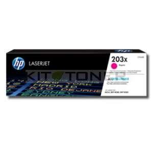 HP 203X - Toner magenta de marque 203X
