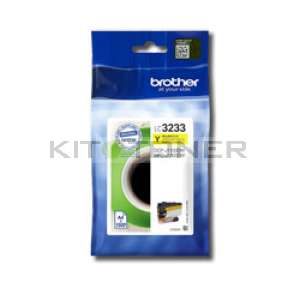 Brother LC3233Y - Cartouche d'encre jaune LC3233Y