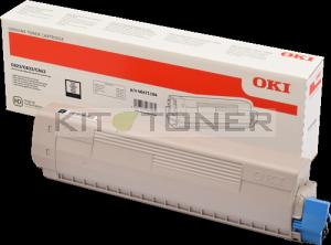 Okidata 46471104 - Cartouche toner noire origine 46471104