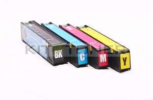 HP 973X - Pack de Quatre Cartouches d'encre compatibles
