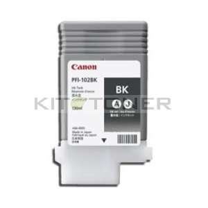 Canon PFI 102BK - Cartouche encre origine noire PFI 102BK