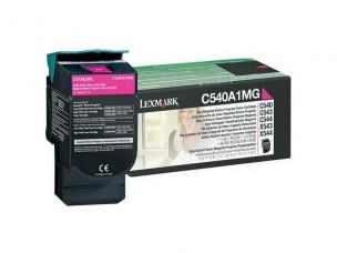 Lexmark 0C540A1MG - Cartouche toner magenta d'origine
