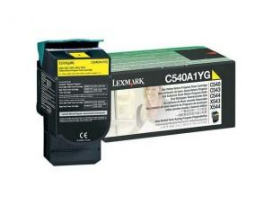 Lexmark 0C540A1YG - Cartouche toner jaune d'origine