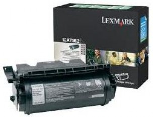 Lexmark 12A7462 - Cartouche de toner noir de marque