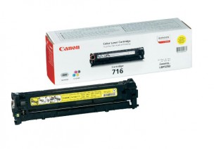 Canon 1977B002 - Cartouche toner d'origine jaune 716