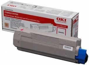 Oki 43865722 - Cartouche de toner magenta d'origine