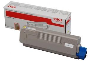 Oki 44315305 - Cartouche de toner jaune d'origine