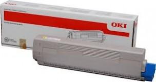 Oki 44844505 - Cartouche de toner jaune d'origine