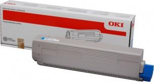 Oki 44844507 - Cartouche de toner cyan d'origine