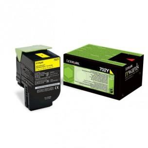 Lexmark 70C2HY0 - Cartouche de toner jaune de marque
