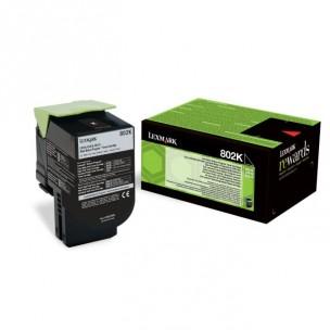 Lexmark 80C20K0 - Cartouche de toner noir originale