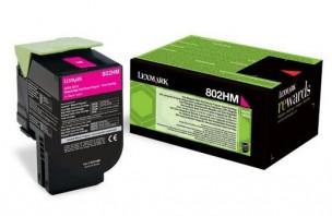 Lexmark  80C2HM0 - Cartouche de toner magenta de marque