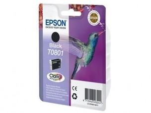 Epson C13T08014011 - Cartouche d'encre Epson Claria noire T0801