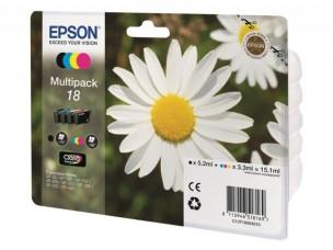 Epson C13T18064010 - Pack de 4 cartouches encre Epson T1806
