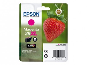 Epson C13T29934010 - Cartouche d'encre magenta 29XL d'origine