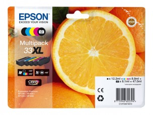Epson C13T33574010 - Multipack 33XL cartouches originales