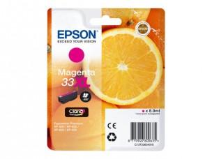 Epson C13T33634010 - Cartouche d'encre magenta 33XL d'origine