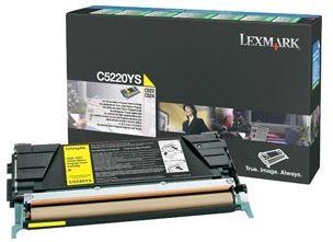 Lexmark C5220YS - Cartouche toner d'origine jaune
