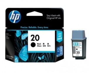 HP C6614D - Cartouche d'encre noire de marque 20