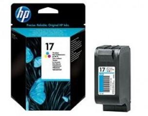 HP C6625A - Cartouche d'encre couleur de marque 17