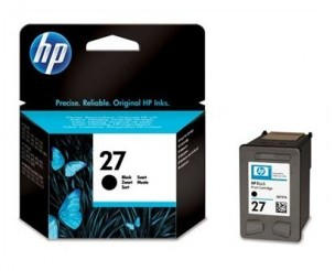 HP C8727AE - Cartouche d'encre HP 27 noire