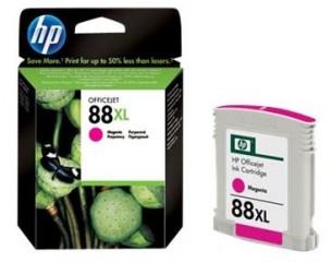 HP C9392AE - Cartouche d'encre magenta originale 88 xl
