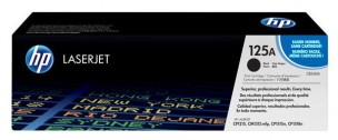 HP CB540A - Cartouche de toner d'origine noir 125A