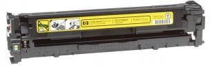 HP CB542A - Cartouche de toner d'origine jaune 125A