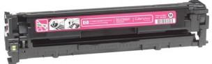 HP CB543A - Cartouche de toner d'origine magenta 125A