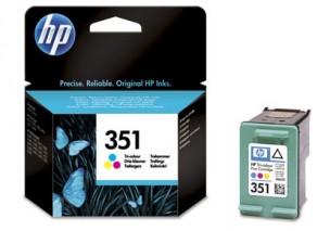 HP CC337EE - Cartouche d'encre couleur d'origine 351