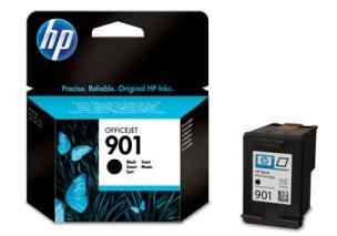 HP CC653AE - Cartouche d'encre noire originale 901