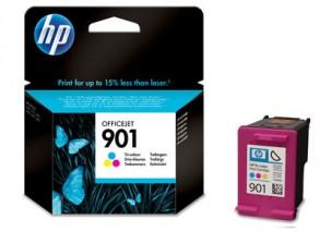 HP CC656AE - Cartouche d'encre couleur originale 901