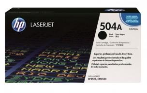 HP CE250A - Cartouche de toner d'origine noire HP 504A