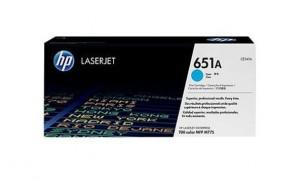 HP CE341A - Toner HP cyan d'origine 651A