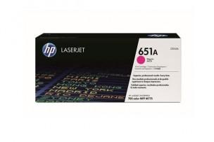 HP CE343A - Toner HP magenta d'origine 651A