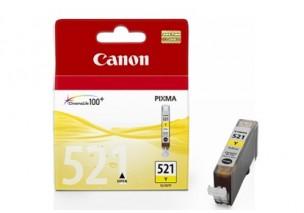 Canon CLI521Y - Cartouche d'encre origine jaune 2936B001