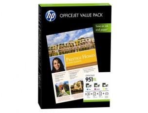 Pack cartouche 951XL - Pack de 3 cartouches encre HP CR712AE