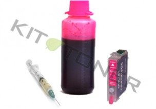 Epson C13T12934011 - Kit cartouche rechargeable compatible magenta