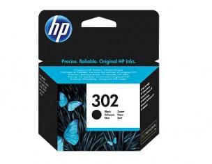 HP F6U66AE - Cartouche d'encre noire de marque HP 302