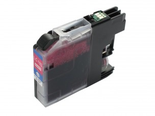 Brother LC123M - Cartouche compatible d'encre magenta