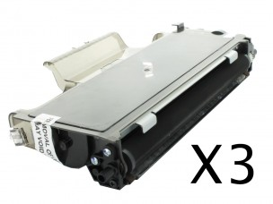 Brother TN2120 - Pack de 3 cartouches de toner compatibles