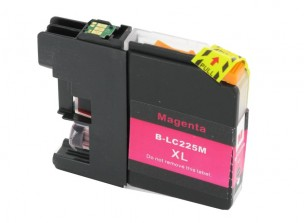 Brother LC225XLM - Cartouche d'encre magenta compatible avec Brother LC225XLM