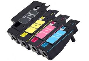 Epson S050613, S050611, S050612, S050614 - Pack économique de 4 toners compatibles