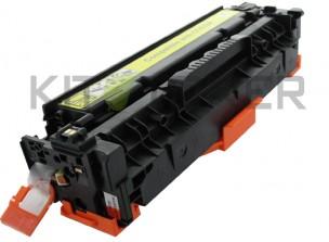 HP CC532A - Cartouche de toner compatible Jaune 304A