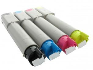 Oki 43459330, 43459329, 43459331, 42127407 - Pack de 4 toners compatibles 4 couleurs
