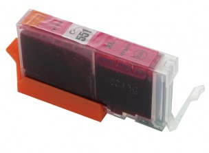 Canon CLI551M XL - Cartouche d'encre magenta compatible 6445B001