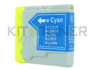 Brother LC1000C - Cartouche d'encre compatible cyan