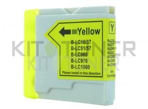 Brother LC1000Y - Cartouche d'encre compatible jaune