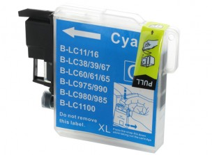 Brother LC1100C - Cartouche d'encre compatible cyan