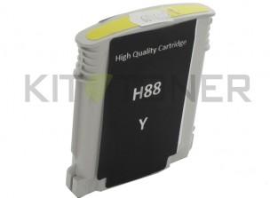 HP C9393AE - Cartouche d'encre compatible jaune 88 xl